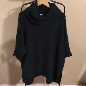 Lou & Grey - Dark Green Oversized Sweater
